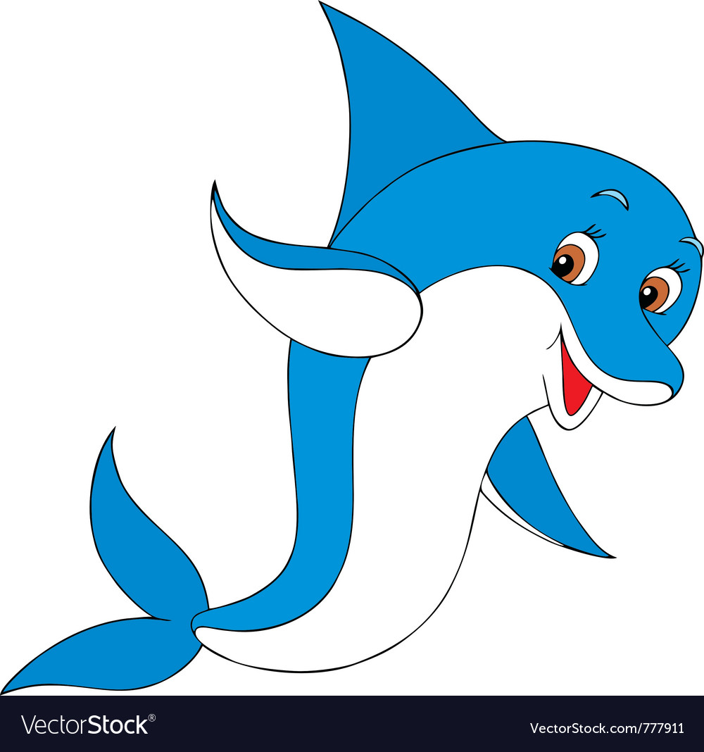 Dolphin vector | Price: 3 Credit (USD $3)