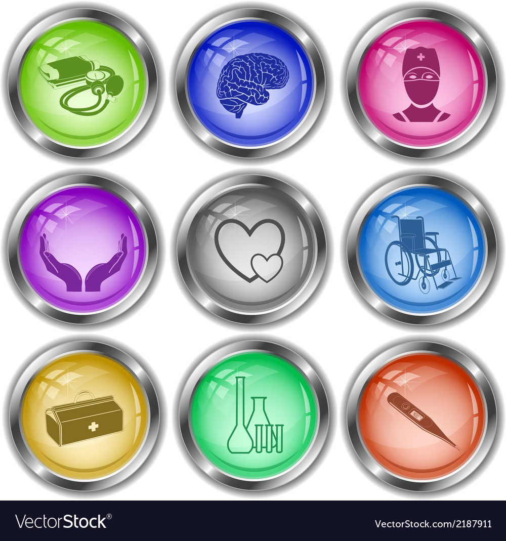 Medical elements vector | Price: 1 Credit (USD $1)