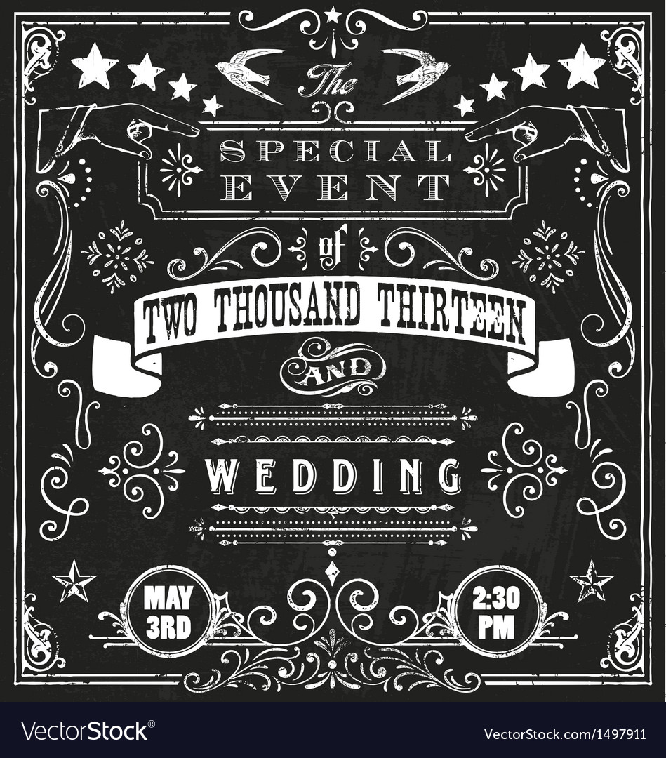 Wedding invite 4 vector | Price: 1 Credit (USD $1)