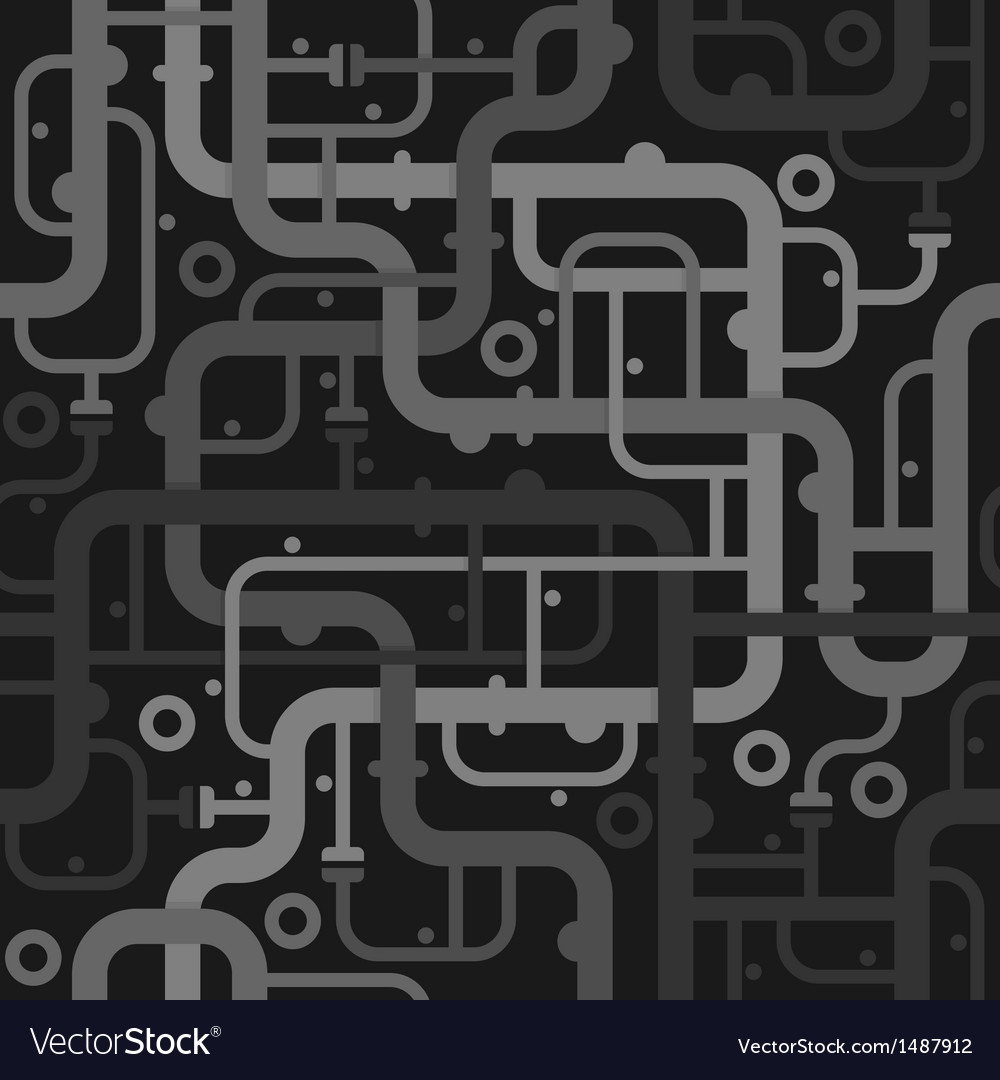 Abstract piping seamless pattern vector | Price: 1 Credit (USD $1)