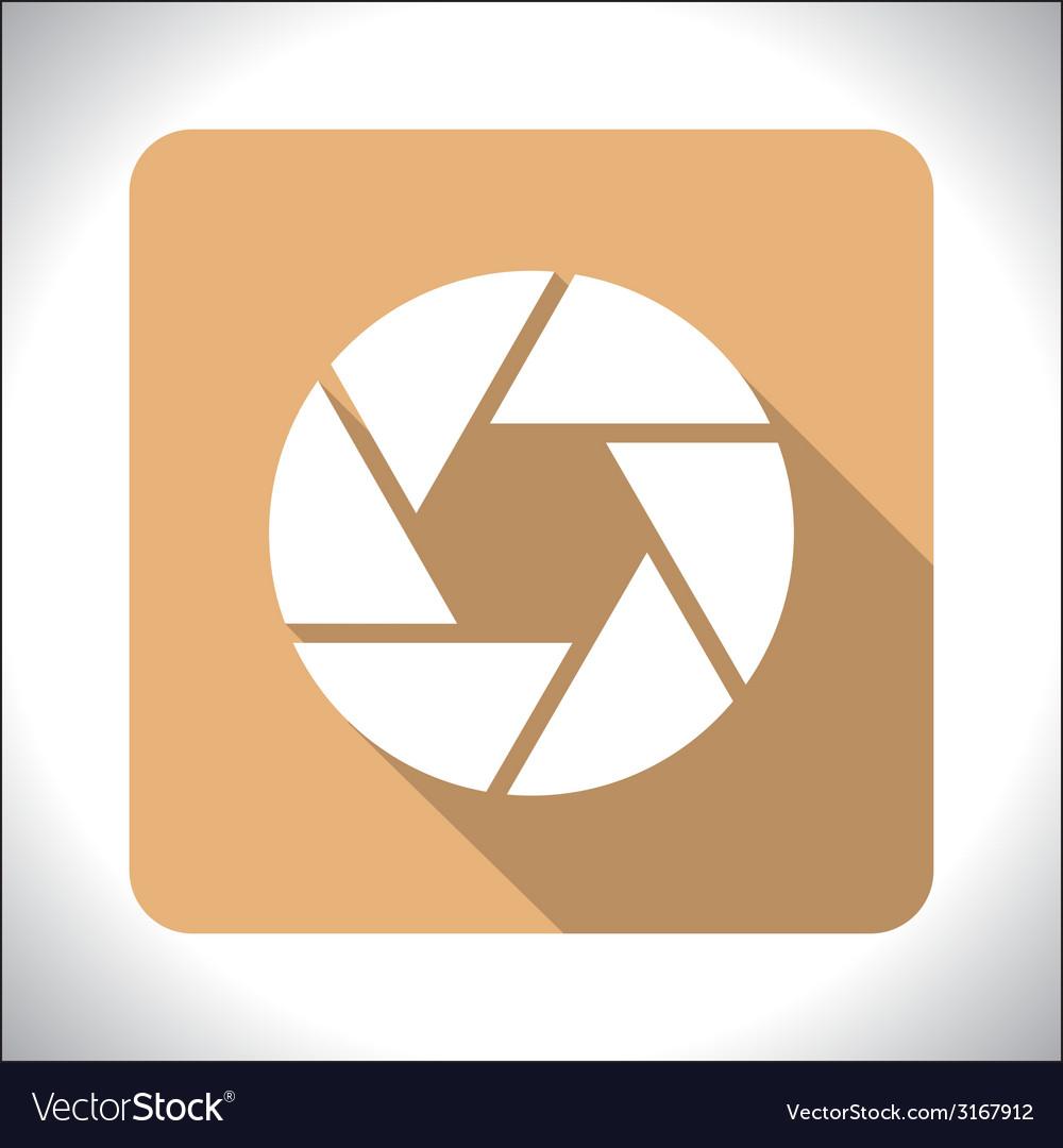 Aperture icon vector | Price: 1 Credit (USD $1)