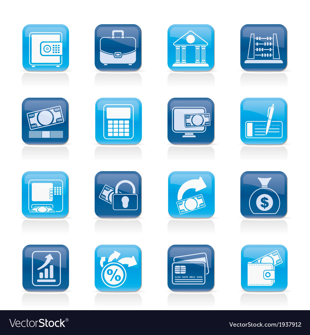 Business and finance icons vector   Price: 1 Credit (USD $1)