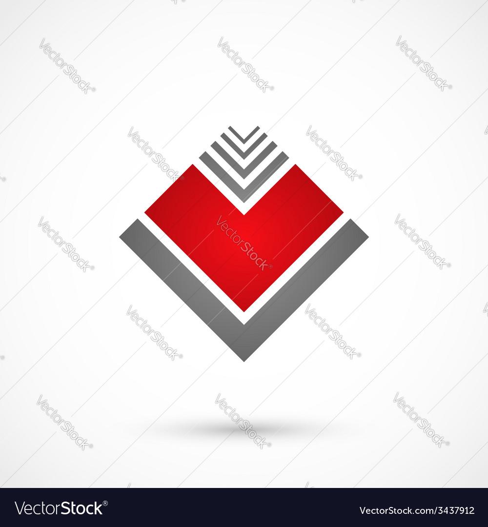 Geometrical heart vector | Price: 1 Credit (USD $1)