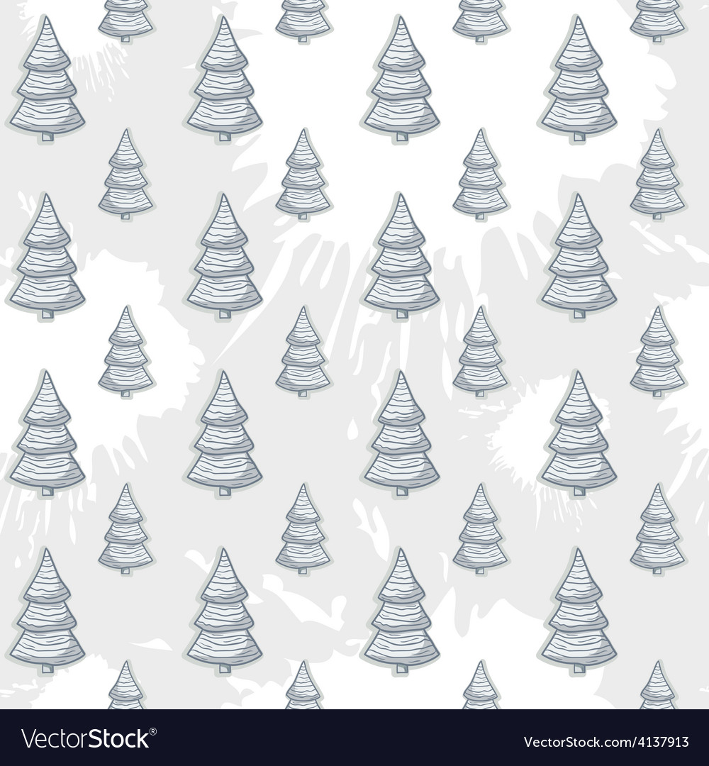 Abstract with christmas tree pattern on a vector | Price: 1 Credit (USD $1)