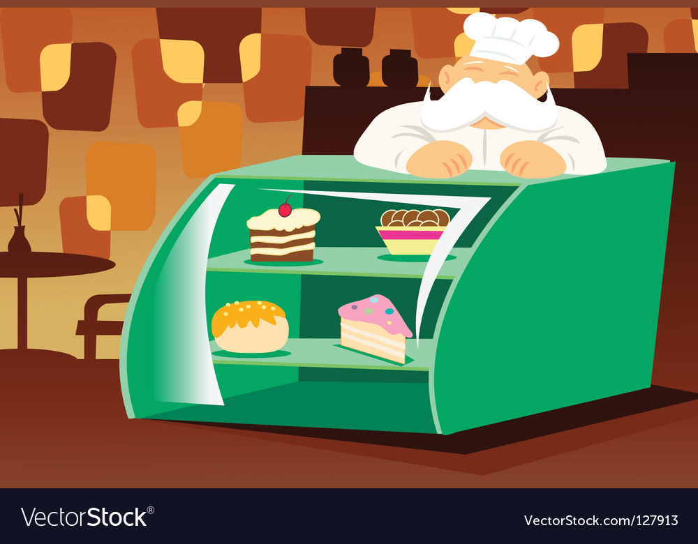 Bakery store vector | Price: 1 Credit (USD $1)