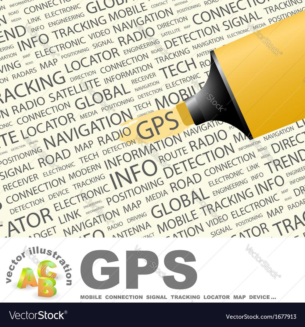 Gps vector   Price: 1 Credit (USD $1)