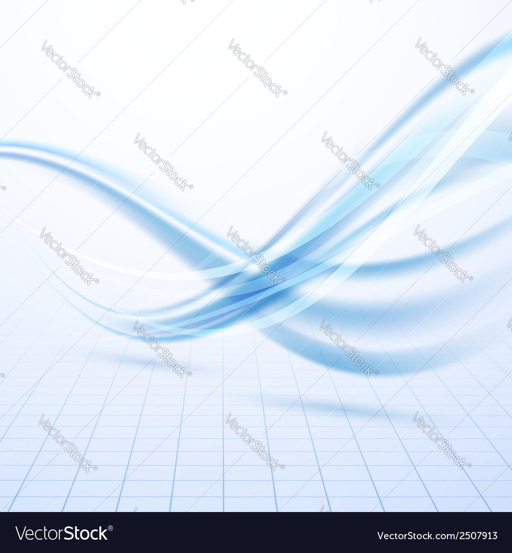 Speed blue swoosh data lines background vector | Price: 1 Credit (USD $1)