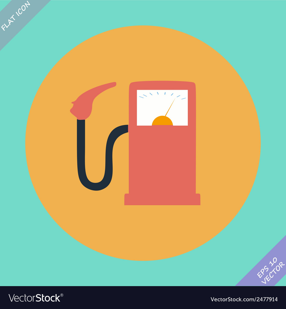Gas station fuel pump - vector | Price: 1 Credit (USD $1)