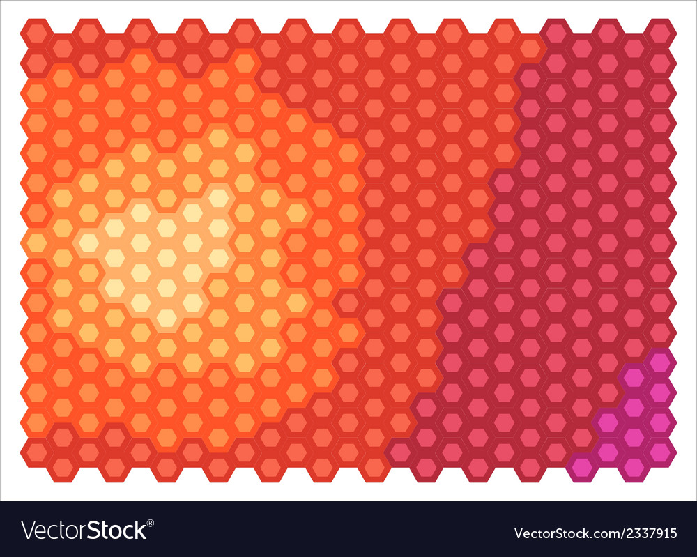 Abstract hexagons vector | Price: 1 Credit (USD $1)