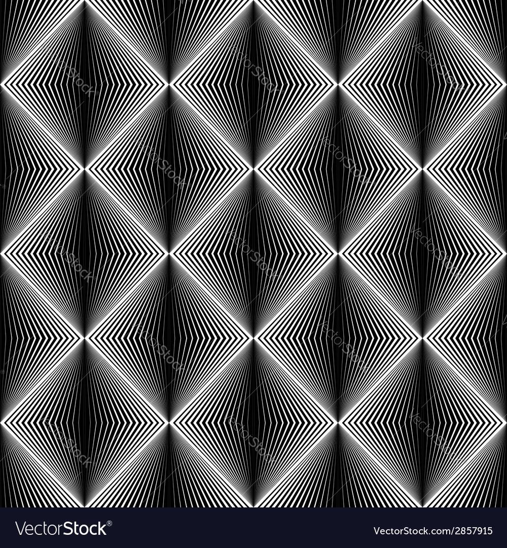 Design seamless diamond trellised pattern vector | Price: 1 Credit (USD $1)
