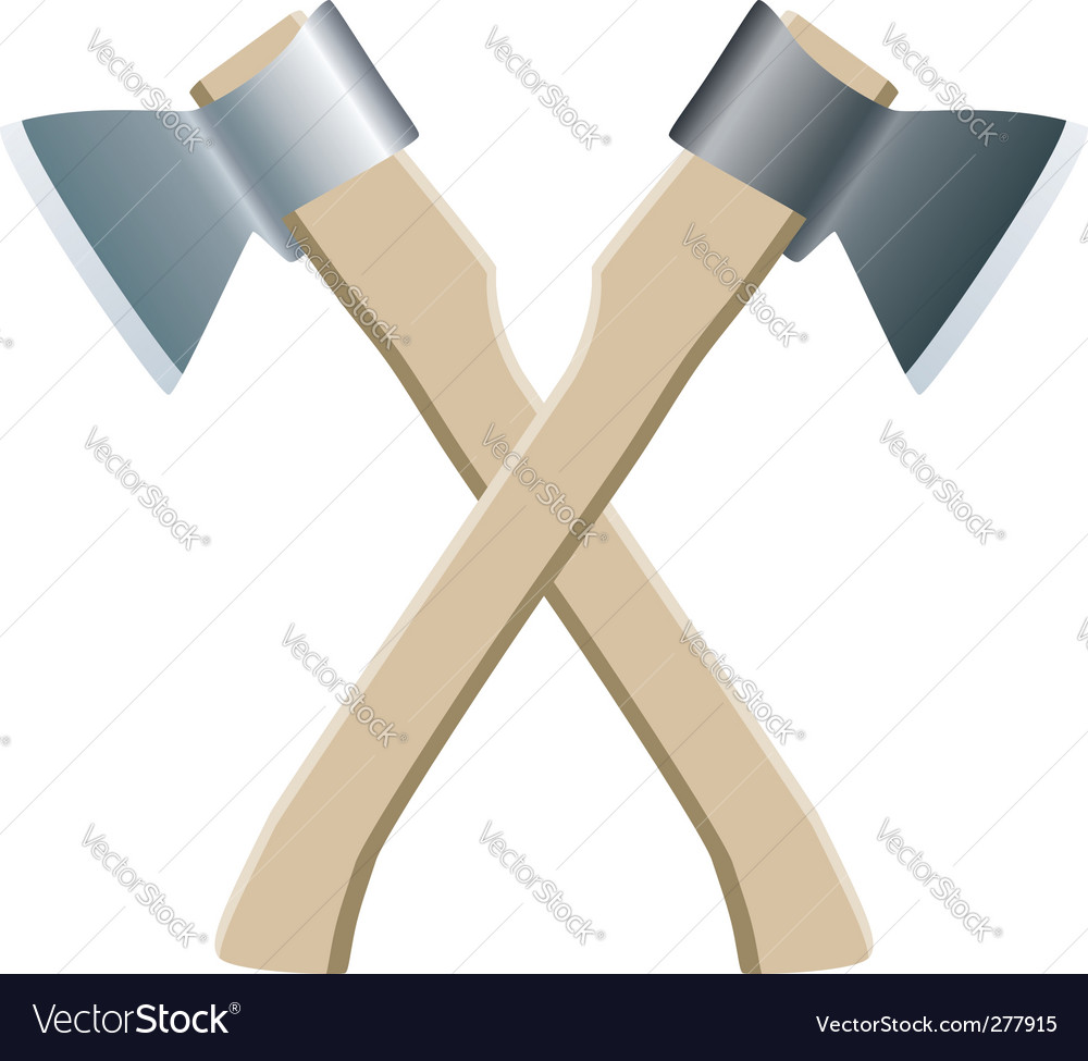 Two axes vector | Price: 1 Credit (USD $1)