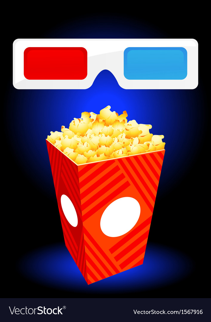 3d movie objects vector | Price: 1 Credit (USD $1)