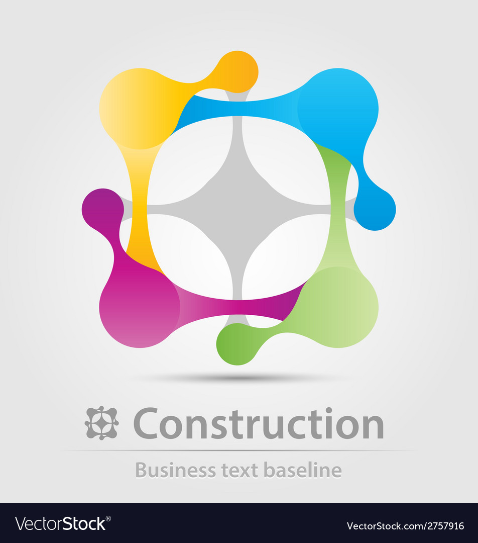 Construction business icon vector   Price: 1 Credit (USD $1)