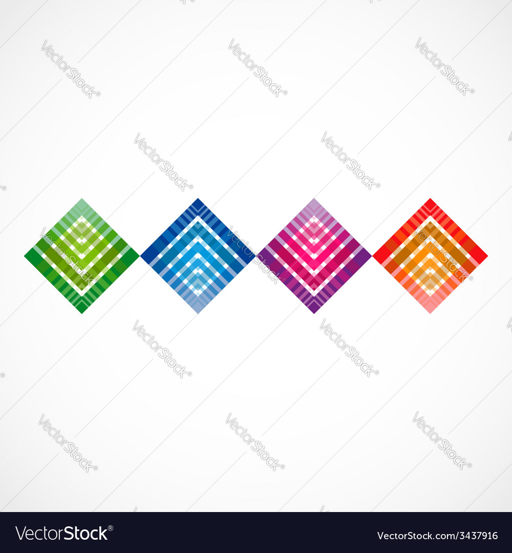 Geometrical row vector | Price: 1 Credit (USD $1)