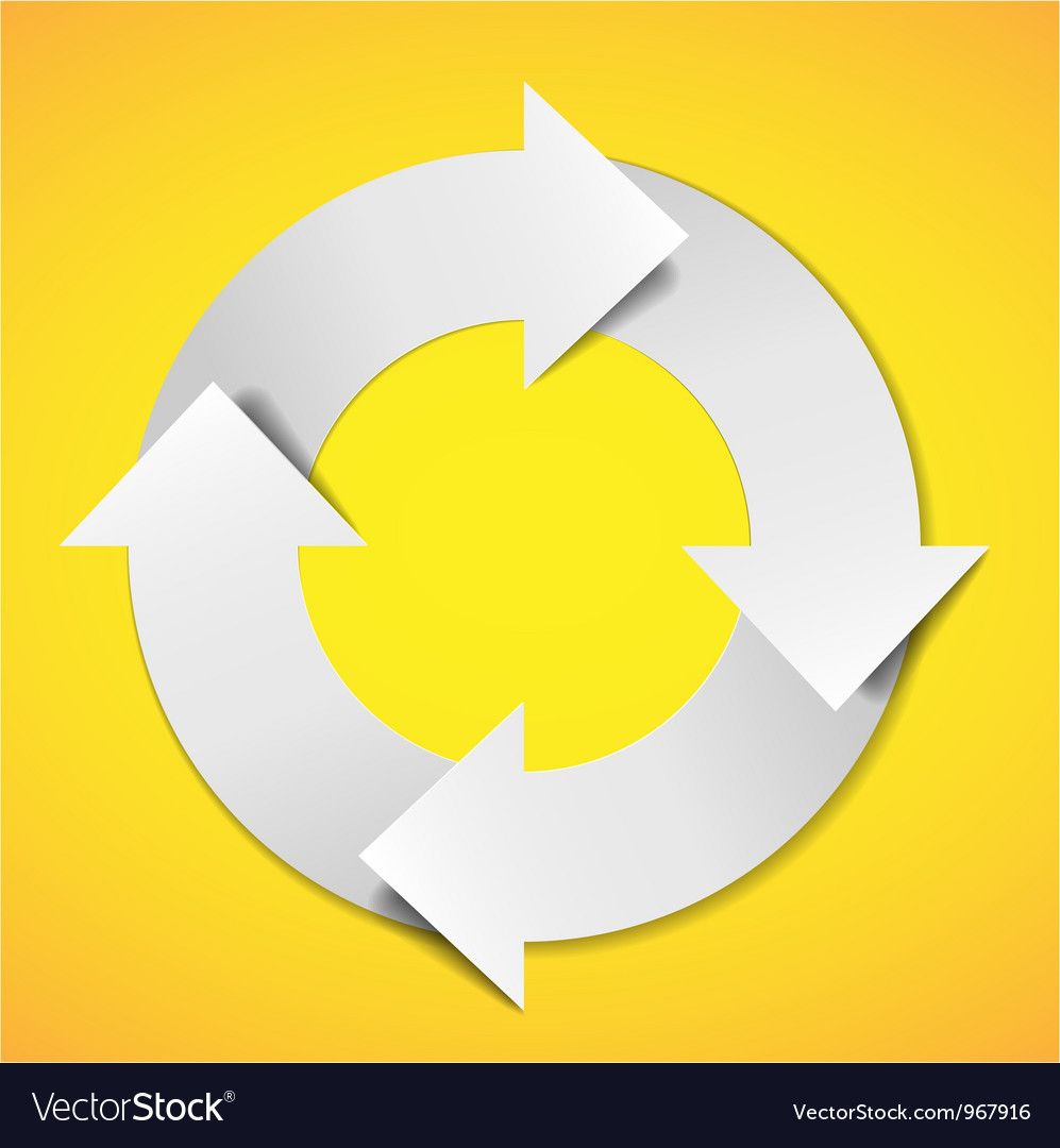 Life cycle diagram vector | Price: 1 Credit (USD $1)