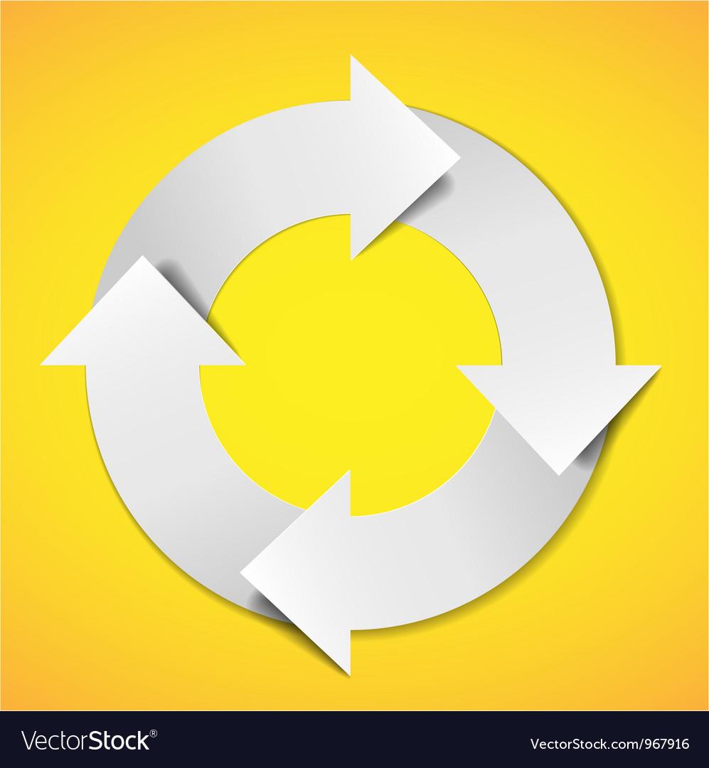 Life cycle diagram vector | Price: 1 Credit (USD $1)