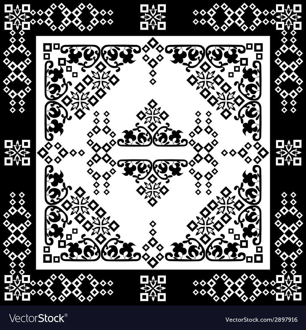 Oriental style seamless pattern sixteen vector | Price: 1 Credit (USD $1)