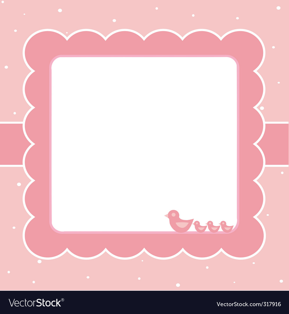 Sweet baby card vector | Price: 1 Credit (USD $1)
