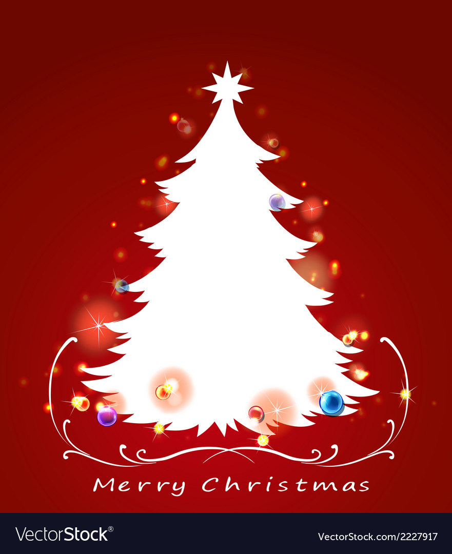 A christmas card vector | Price: 1 Credit (USD $1)