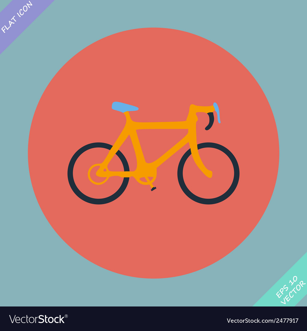 Bicycle icon - vector | Price: 1 Credit (USD $1)
