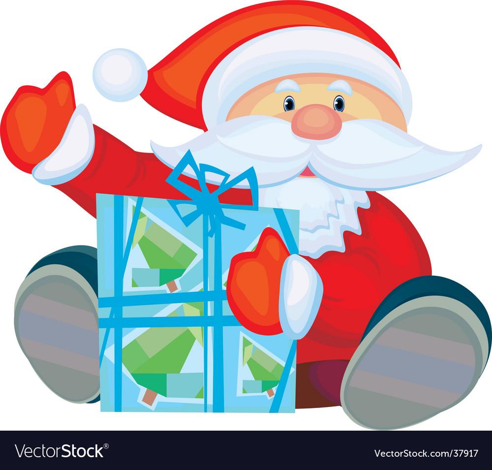 Cartoon santa vector | Price: 1 Credit (USD $1)