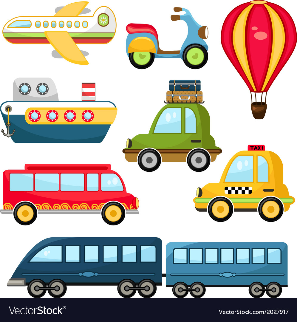 Cute transportation vector | Price: 1 Credit (USD $1)