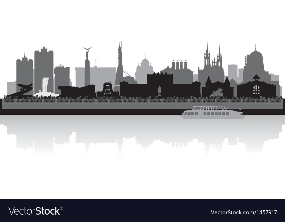 Samara city skyline silhouette vector | Price: 1 Credit (USD $1)