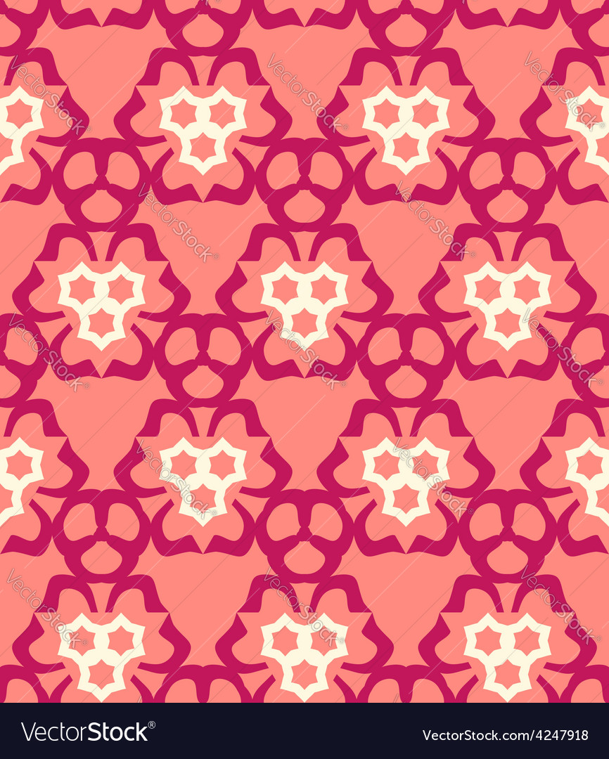 Psychedelic abstract colorful red cream pink vector | Price: 1 Credit (USD $1)