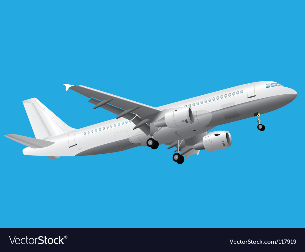 Airbus vector | Price: 1 Credit (USD $1)