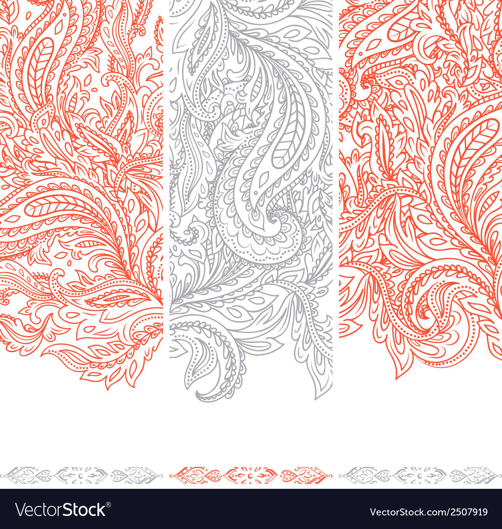 Beautiful floral set of banners vector | Price: 1 Credit (USD $1)