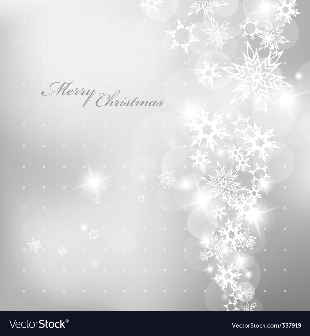 Christmas silver vector | Price: 1 Credit (USD $1)