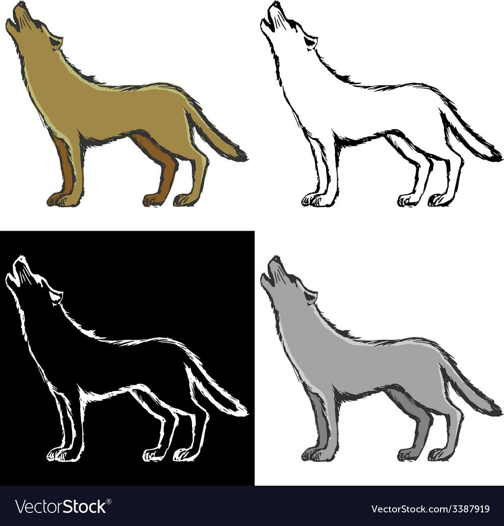 Wolf vector   Price: 1 Credit (USD $1)