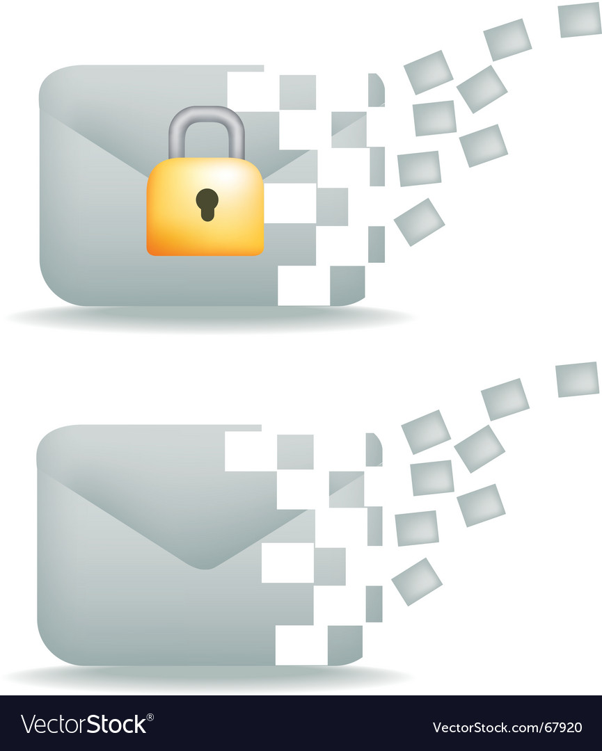 Mail squares vector | Price: 1 Credit (USD $1)