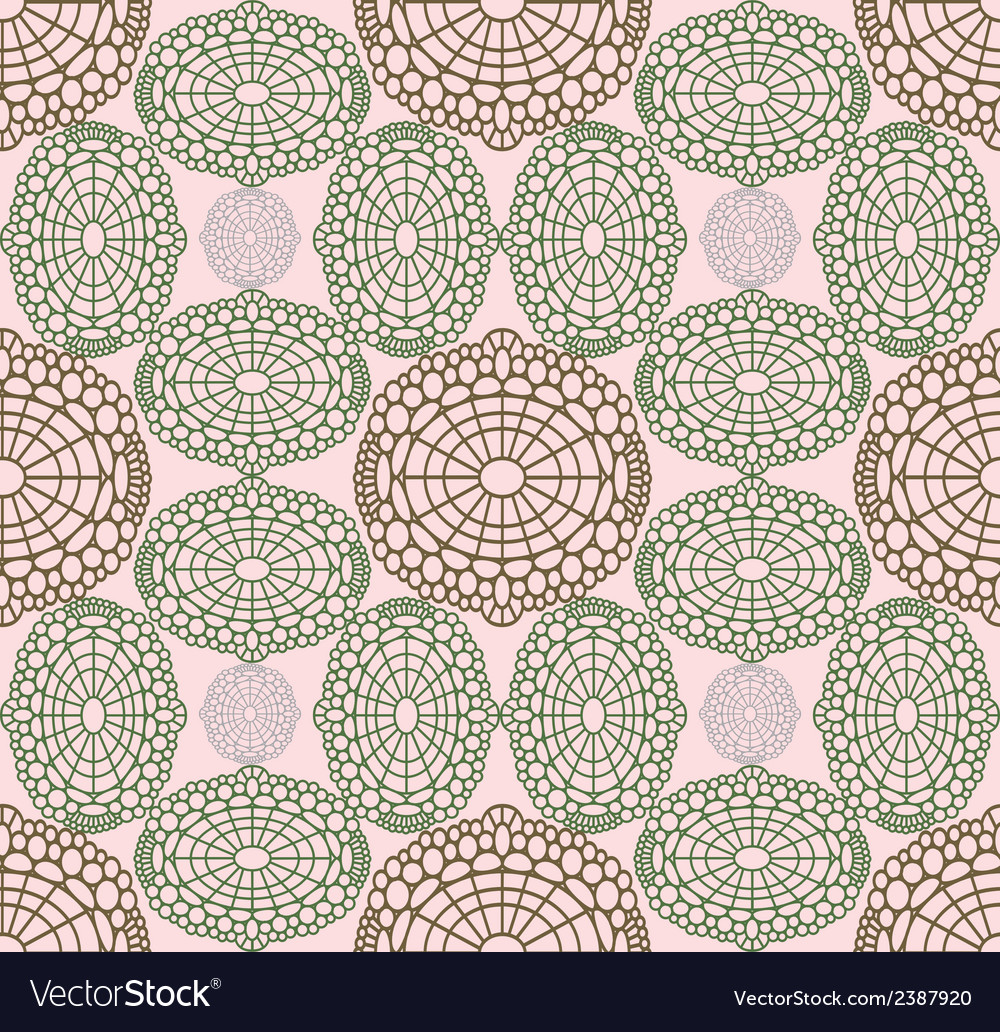 Rosy pattern vector | Price: 1 Credit (USD $1)