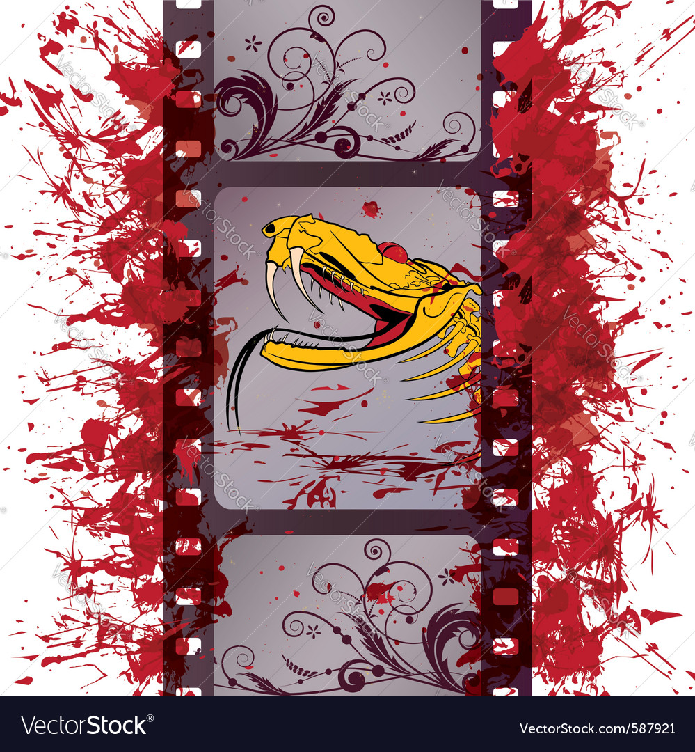 Action film strip vector | Price: 1 Credit (USD $1)
