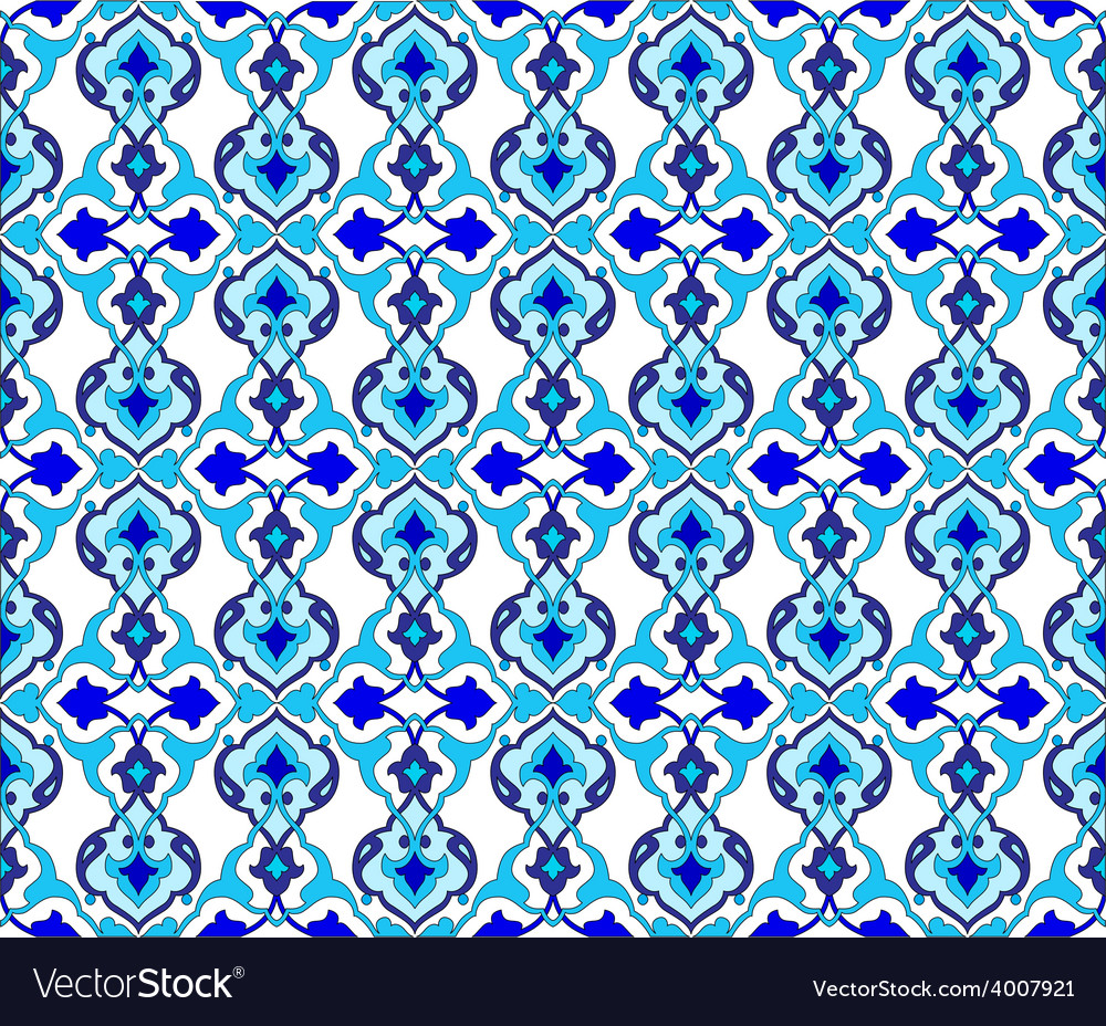 Background with seamless pattern ten vector | Price: 1 Credit (USD $1)