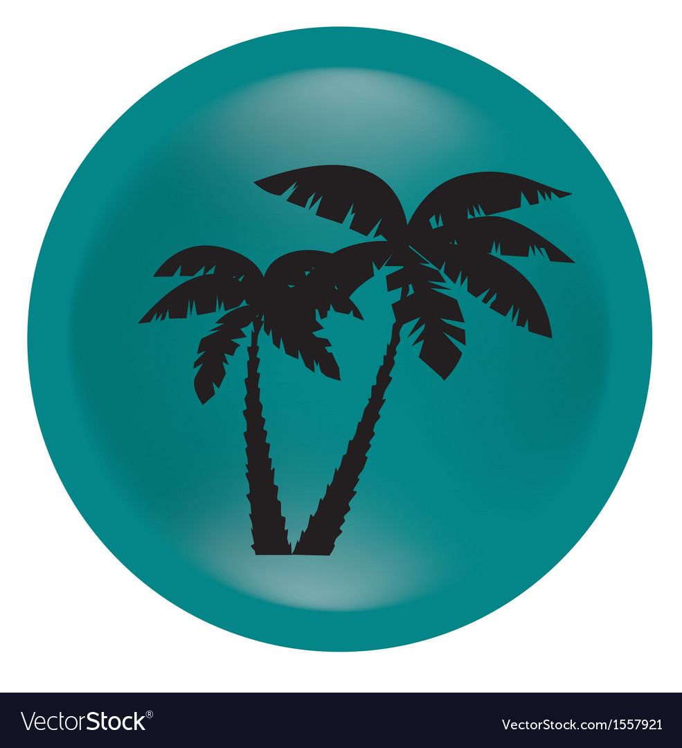 Black palm vector | Price: 1 Credit (USD $1)