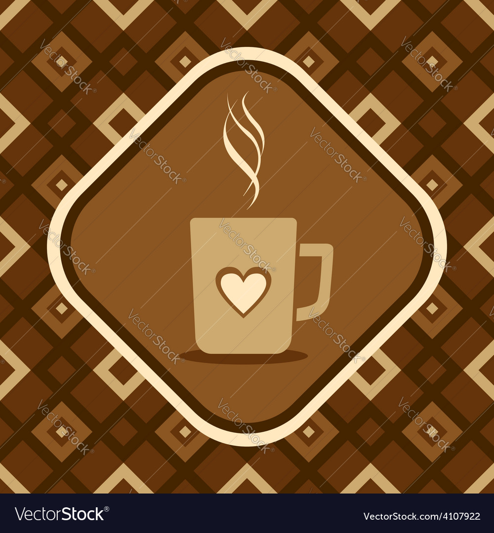 Cup coffee vector | Price: 1 Credit (USD $1)