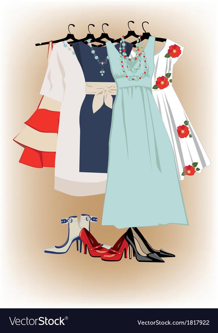 Dresses vector   Price: 1 Credit (USD $1)