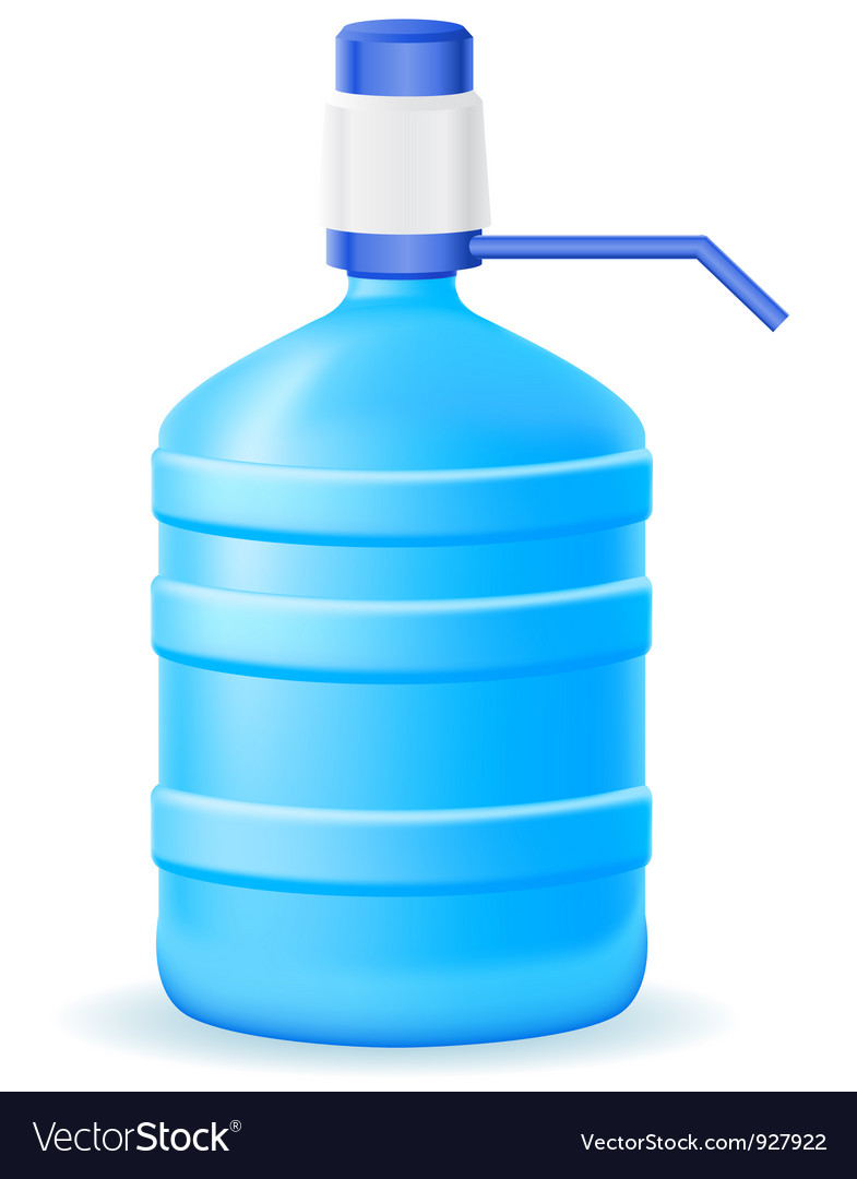 Water in a plastic bottle vector   Price: 1 Credit (USD $1)