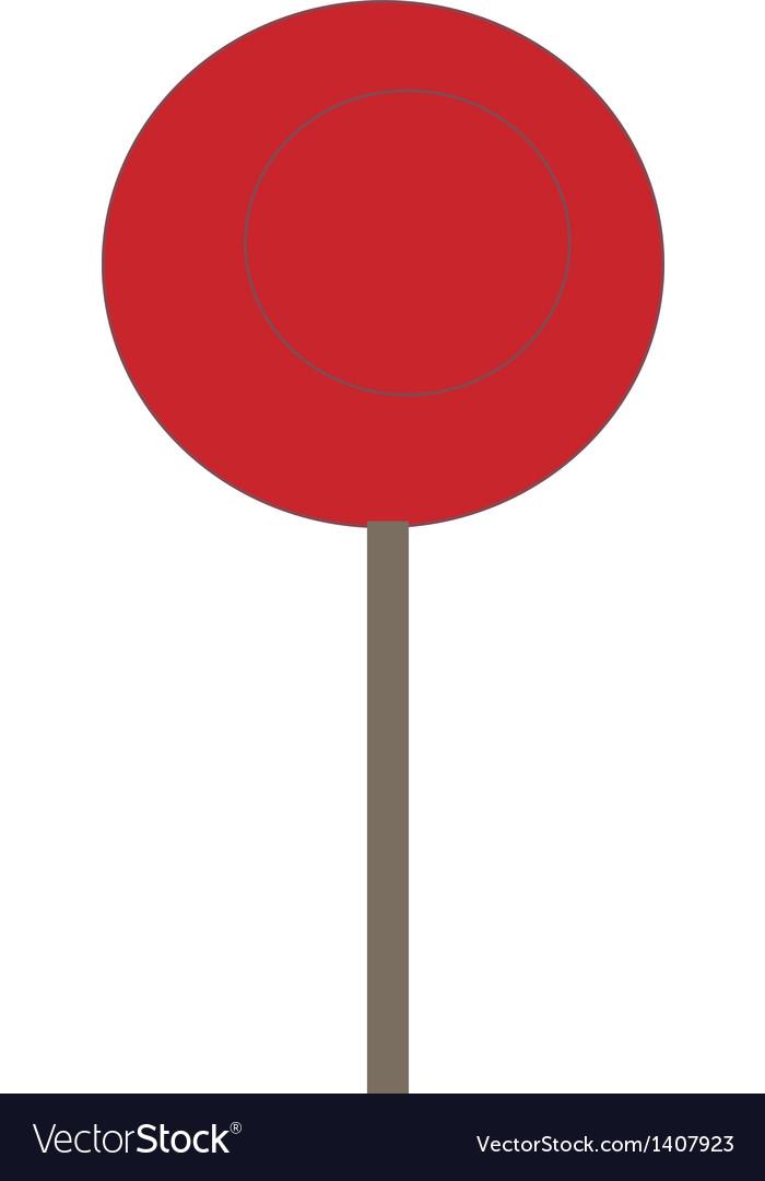 A lollipop vector