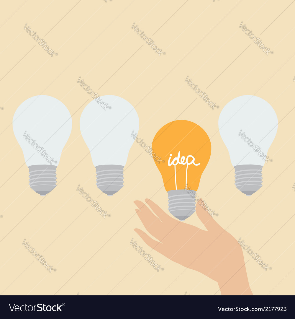 Choosing the idea vector | Price: 1 Credit (USD $1)