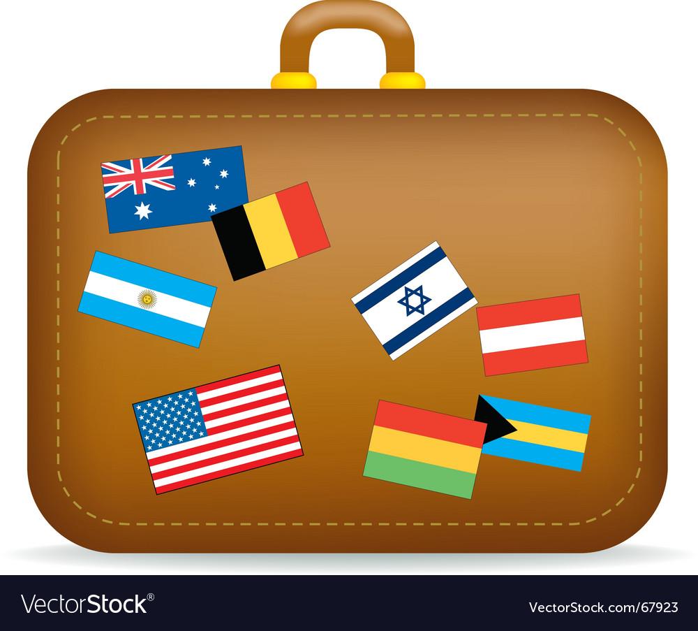 Suitcase travel vector | Price: 1 Credit (USD $1)