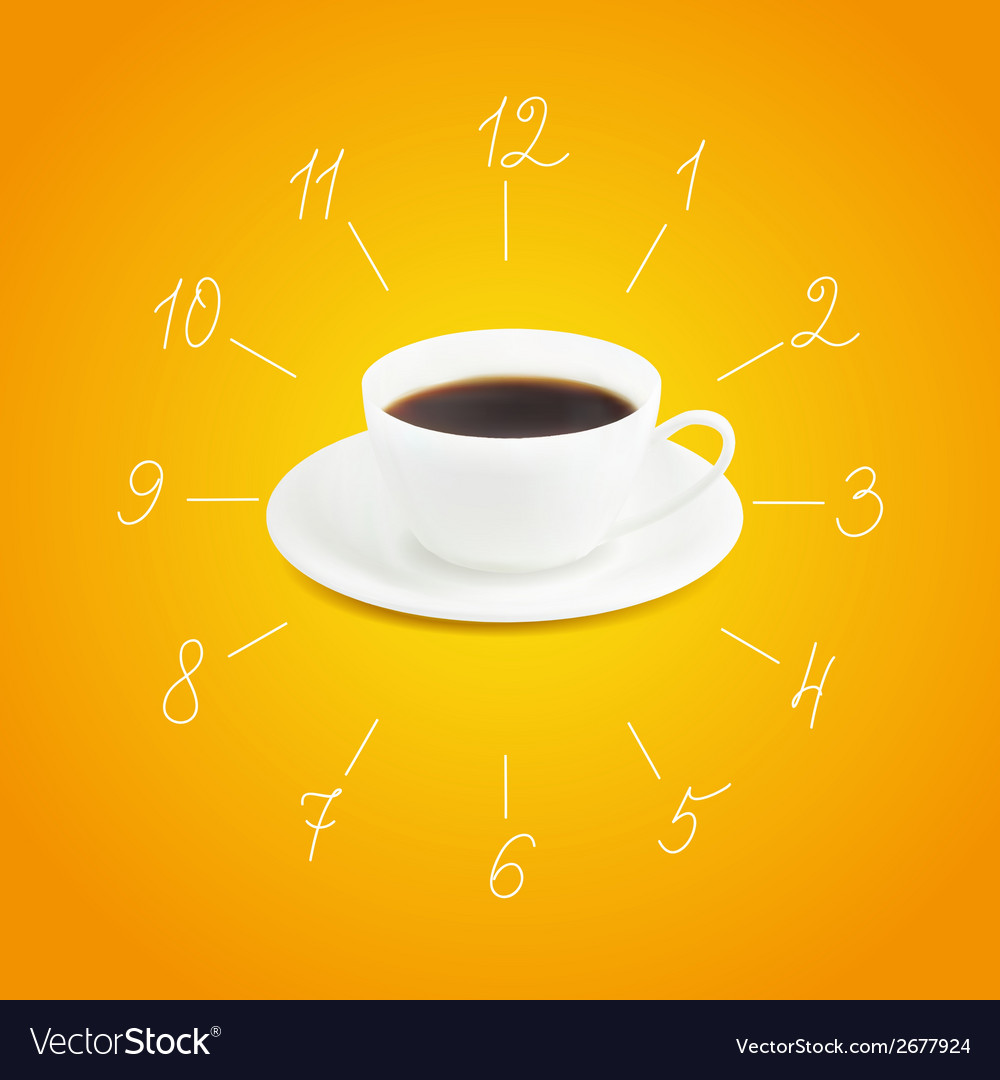 Cup of espresso vector | Price: 1 Credit (USD $1)