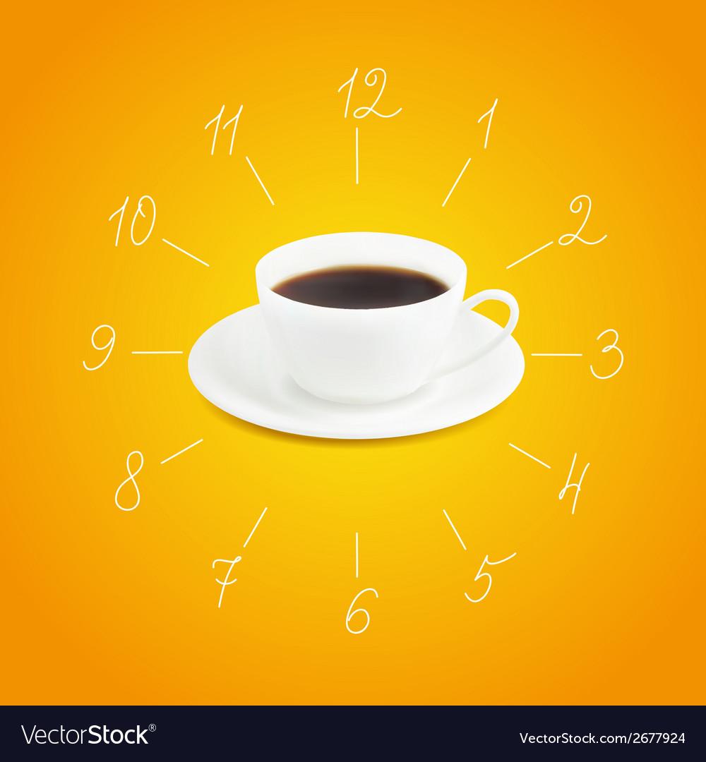 Cup of espresso vector | Price: 1 Credit (USD $1)