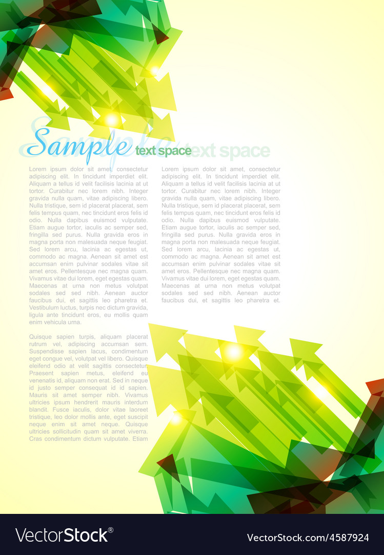 Sample page vector | Price: 1 Credit (USD $1)