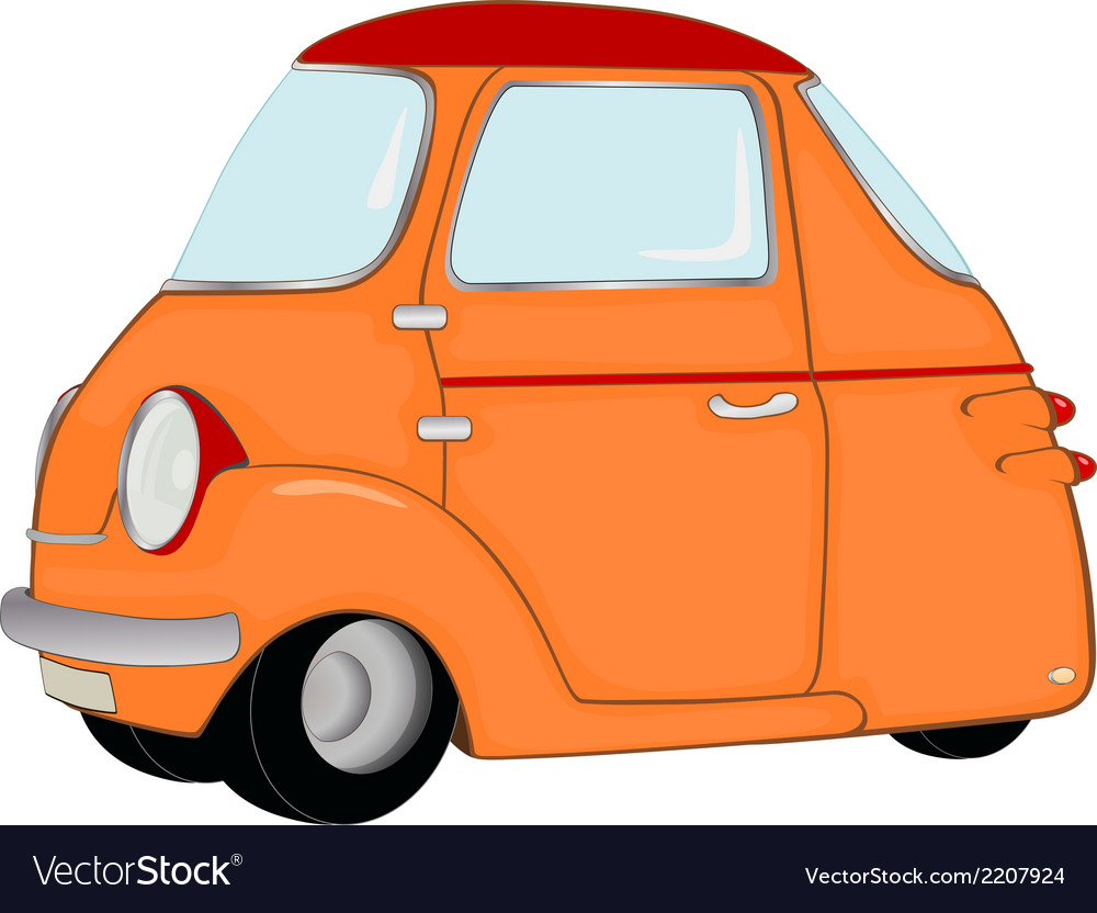 The toy car vector | Price: 1 Credit (USD $1)