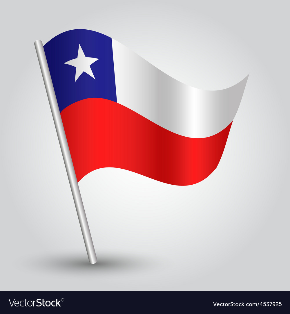 Flag chile vector | Price: 1 Credit (USD $1)