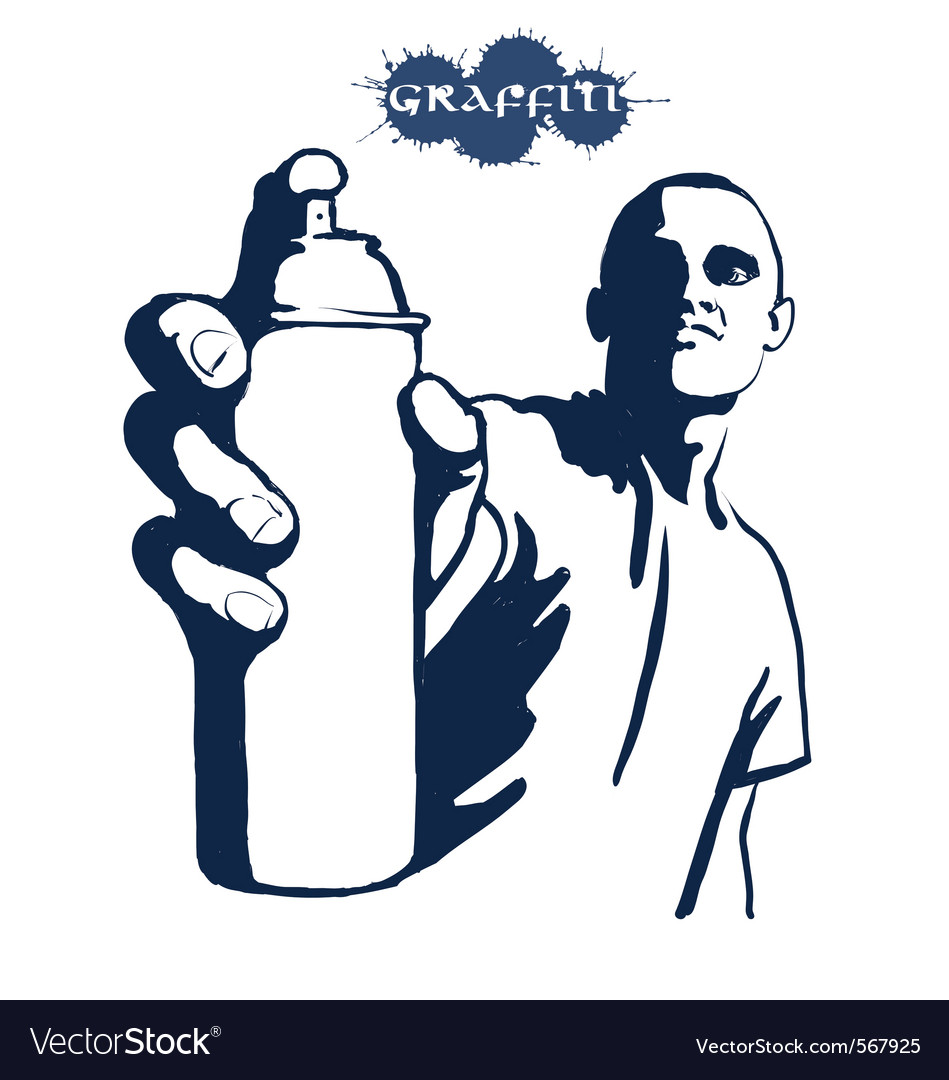 Graffiti painting vector | Price: 1 Credit (USD $1)