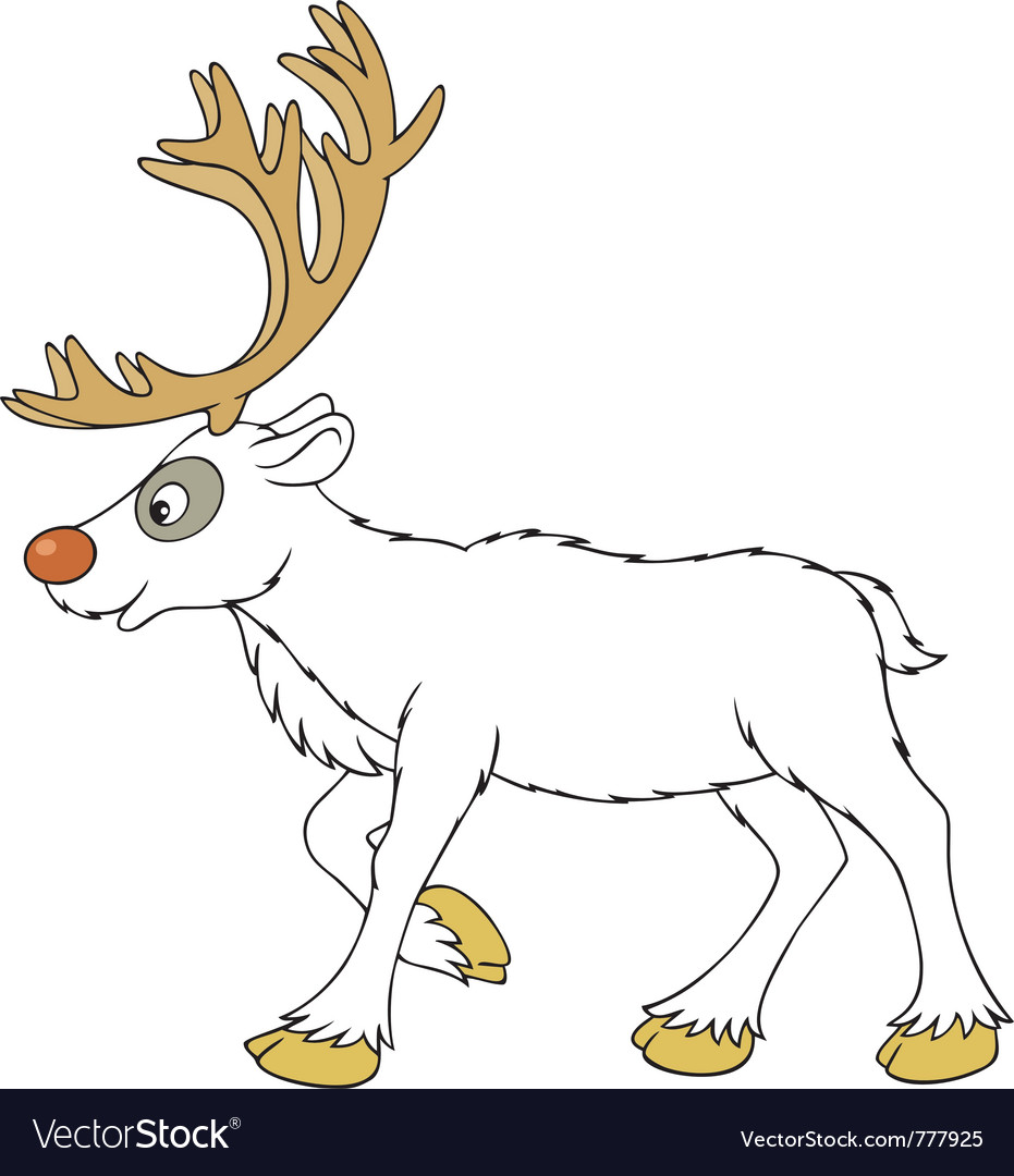 Reindeer vector | Price: 3 Credit (USD $3)